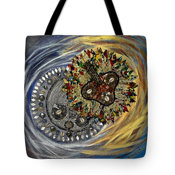 The Moon's Eclipse Tote Bag by Apanaki Temitayo M