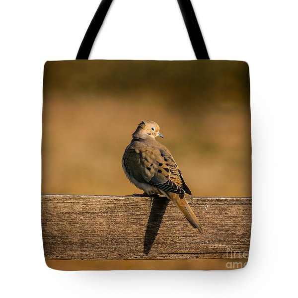 The Morning Dove Tote Bag