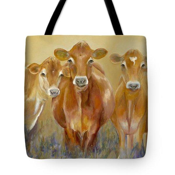 The Morning Moo Tote Bag