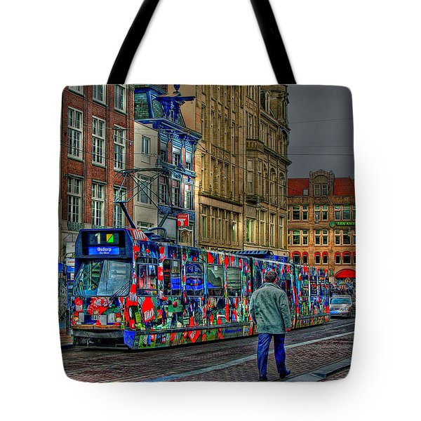 Tote Bag featuring the photograph The Morning Rhythm by Ron Shoshani
