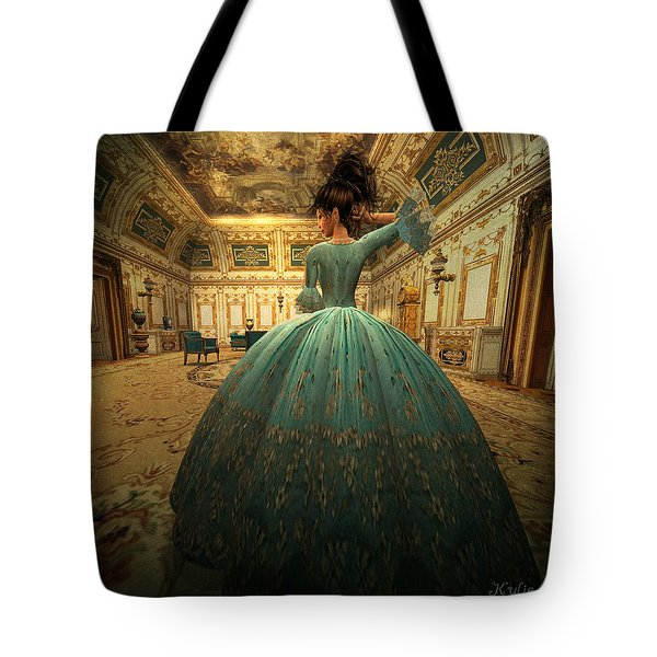 The Morning Room Tote Bag by Kylie Sabra