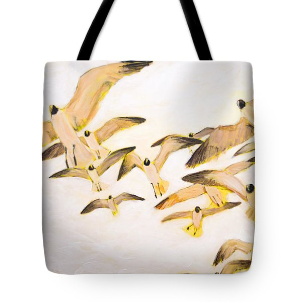 The Most Glorious Birds Tote Bag