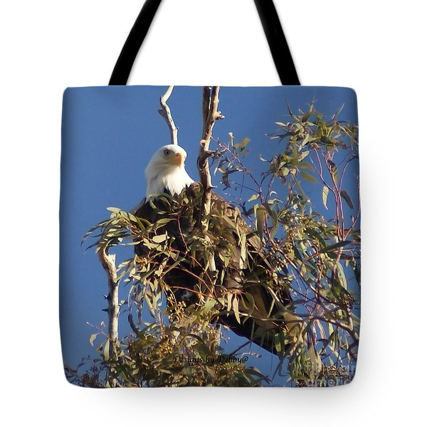 Tote Bag featuring the photograph The Most Magnificant Bird by Debby Pueschel