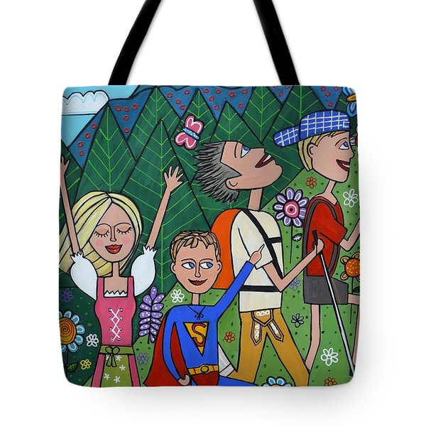 The Mountain Hike Tote Bag