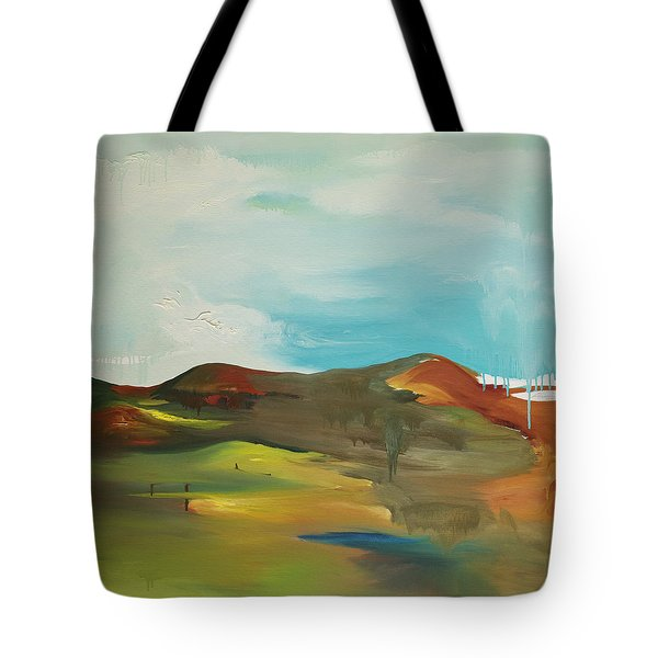 The Mountain Tote Bag by Joseph Demaree
