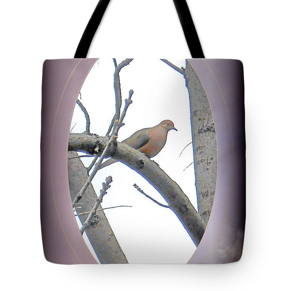 The Mourning Dove Tote Bag