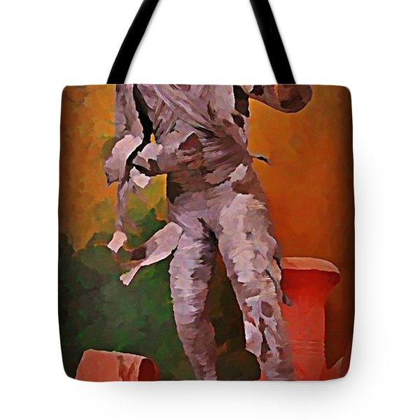 The Mummy Tote Bag by John Malone