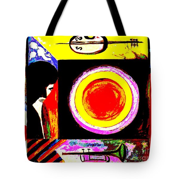 The Music Maker Tote Bag by Hazel Holland