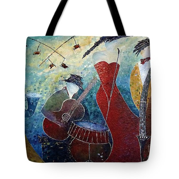 The Music Never Stopped 2 Tote Bag