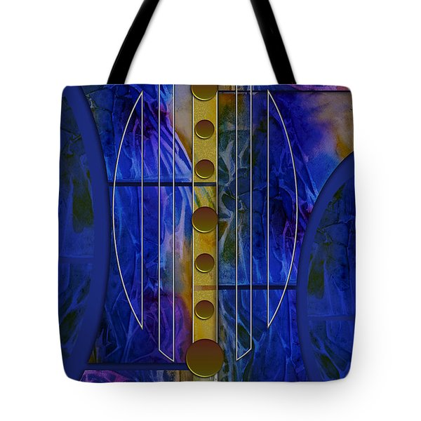 The Musical Abstraction Tote Bag