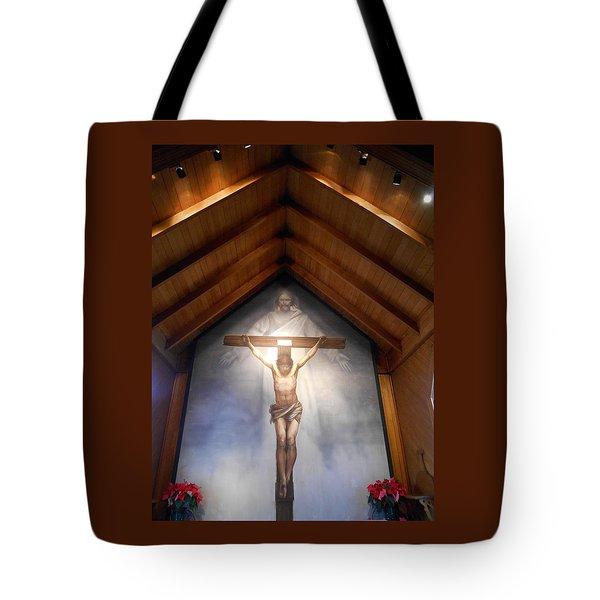 The Mystery Of Faith Frescoe Tote Bag