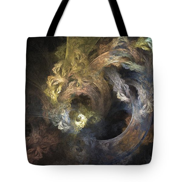 The Mystical Garden - Abstract Art Tote Bag