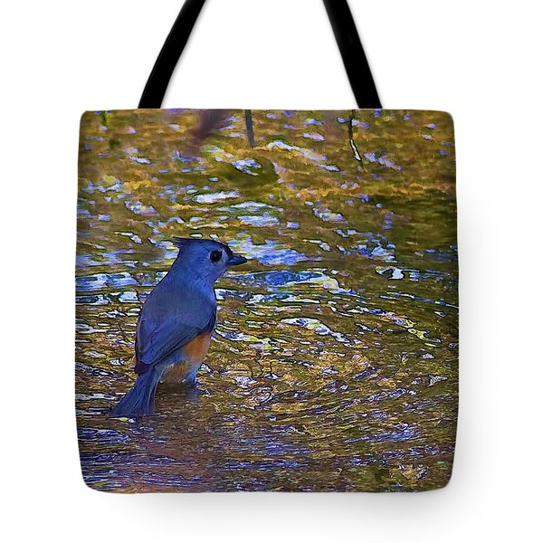 Tote Bag featuring the photograph The Naiad by Gary Holmes