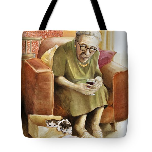 The Nanny Tote Bag by Shelly Wilkerson