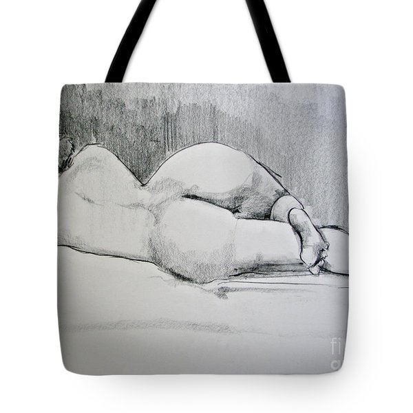 The Nap Tote Bag by Rory Sagner