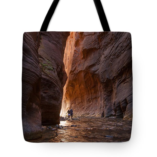 The Narrows 4 Tote Bag