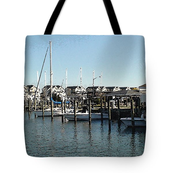 Tote Bag featuring the photograph The Narrows by Charles Kraus