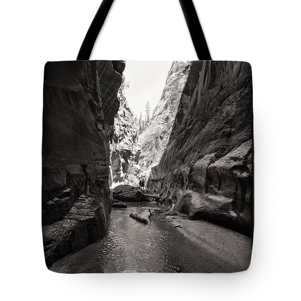 Tote Bag featuring the photograph The Narrows IIi by Angelique Olin