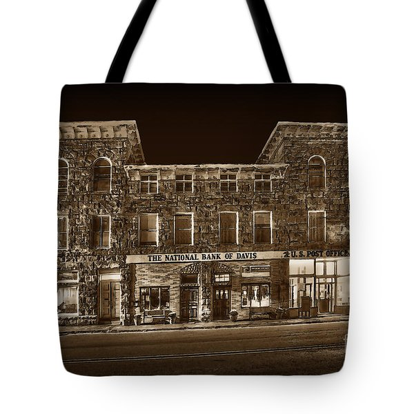 The National Bank Of Davis Wv Tote Bag by Dan Friend