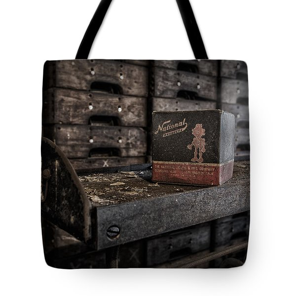 The National Screw Tote Bag by Susan Candelario