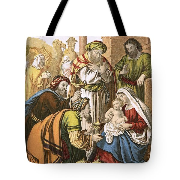 The Nativity Tote Bag by English School