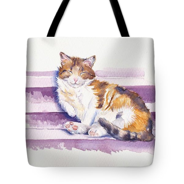 The Naughty Step Tote Bag