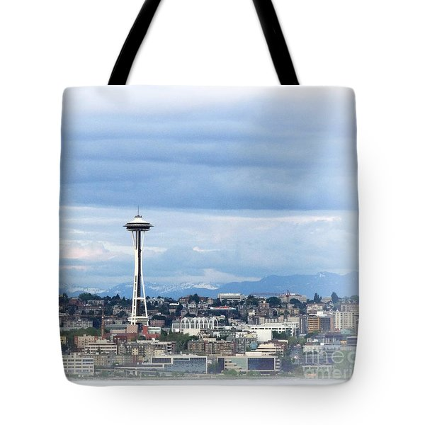 The Needle In Seattle Wa Tote Bag