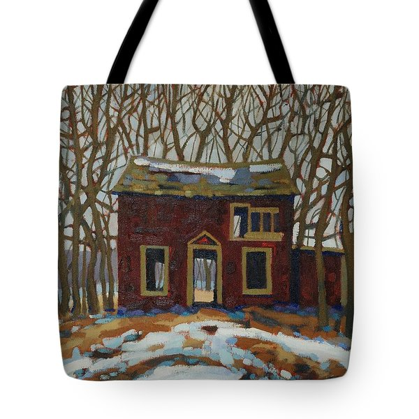 The Neighbour's Tote Bag by Phil Chadwick