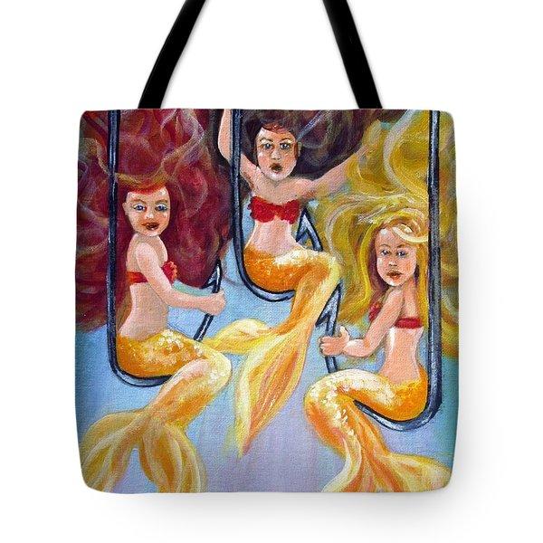 The Neptunes -- Golden Girls Tote Bag