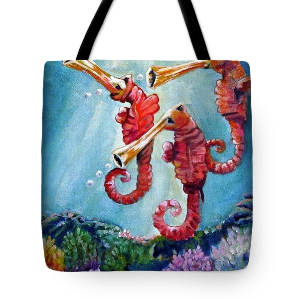 The Neptunes -- Trumpeteers Tote Bag