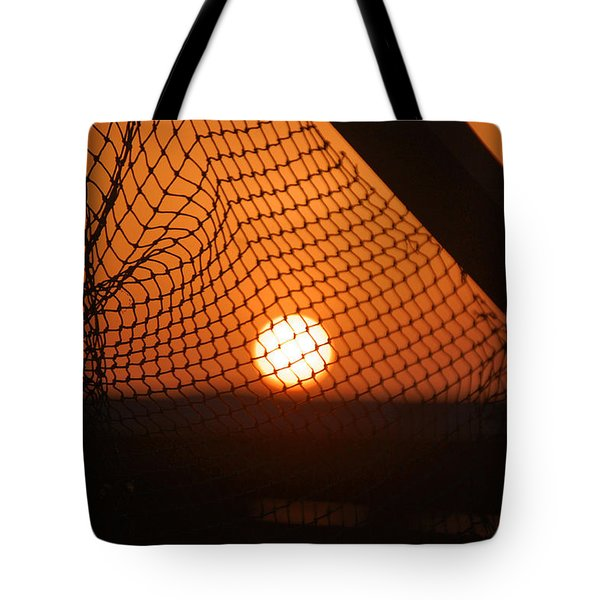 The Netted Sun Tote Bag by Leticia Latocki