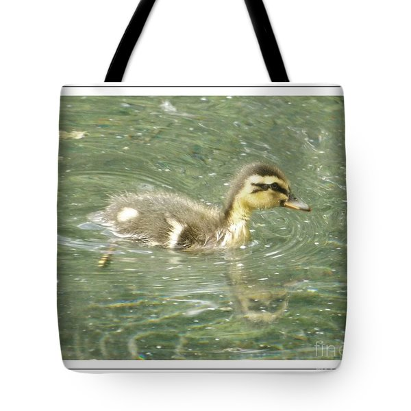 The New Addition Tote Bag by Sara  Raber