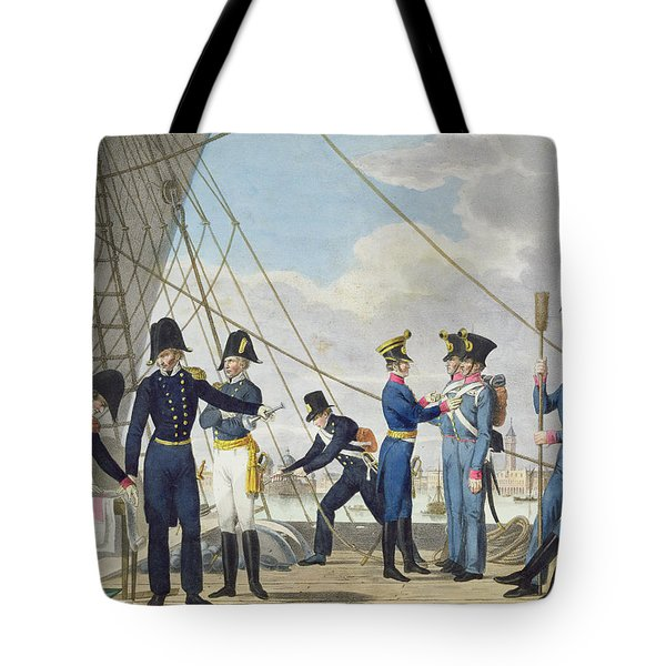 The New Imperial Royal Austrian Navy Tote Bag