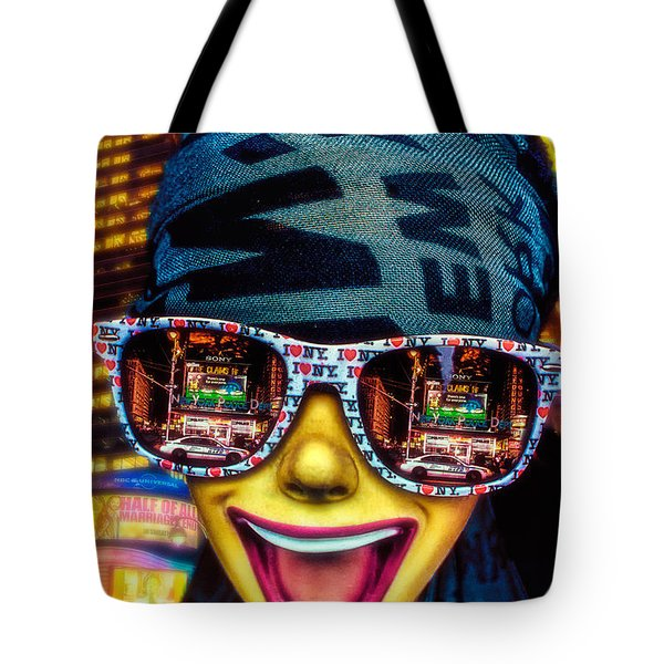 The New York City Tourist Tote Bag by Chris Lord