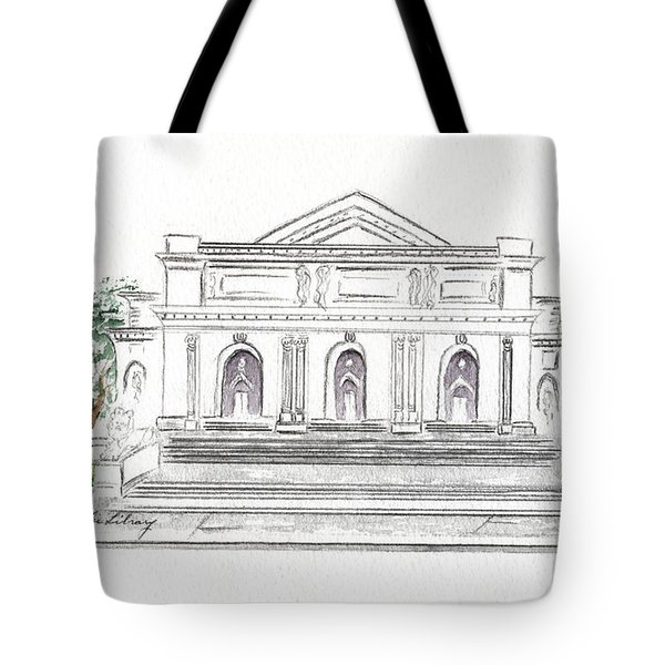 The New York Public Library Tote Bag