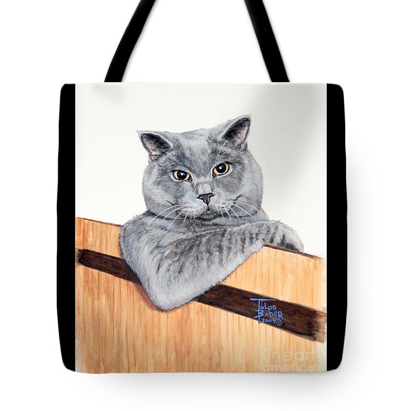 The Next Door Neighbor Tote Bag
