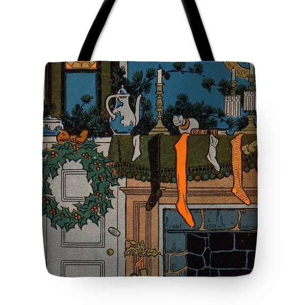 The Night Before Christmas Tote Bag by Denlow