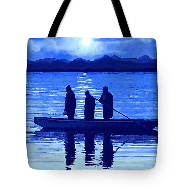 The Night Fishermen Tote Bag