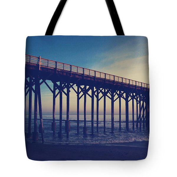 The Night Is Coming And We're Together Tote Bag by Laurie Search