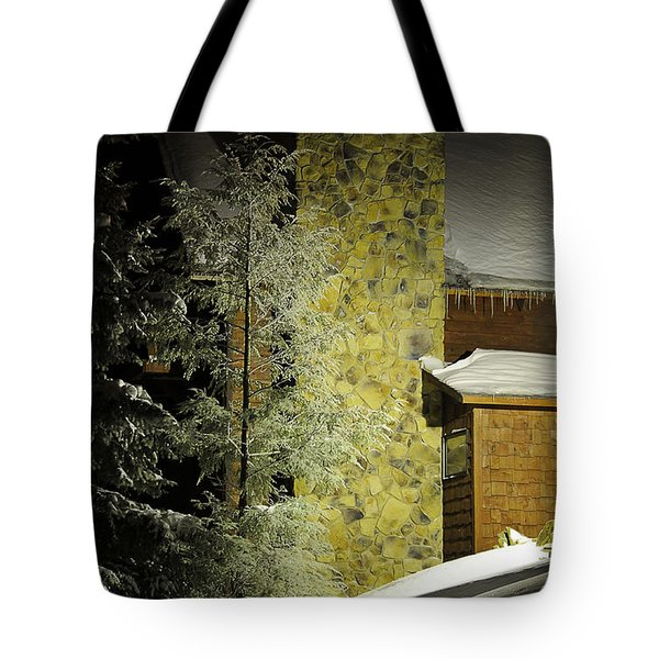 The Night Light Tote Bag by Lois Bryan