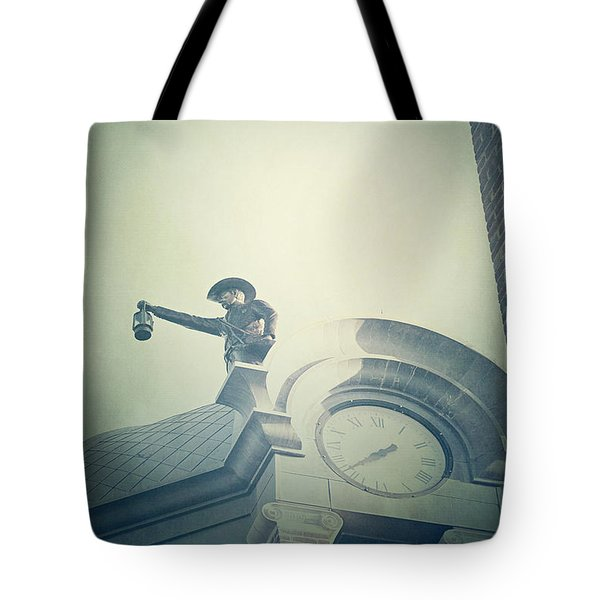 Tote Bag featuring the photograph The Night Watchman by Trish Mistric