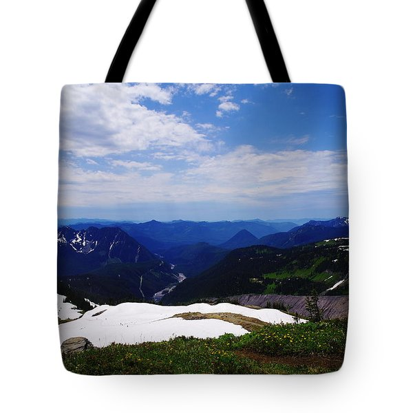 The Nisqually  Drainage Tote Bag