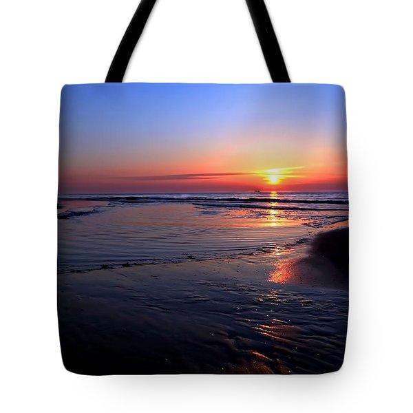 The North Sea Tote Bag