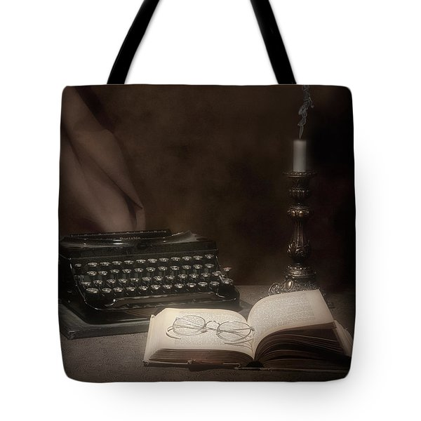 The Novelist Still Life Tote Bag