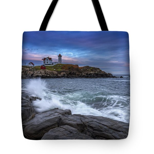 The Nubble In Color Tote Bag