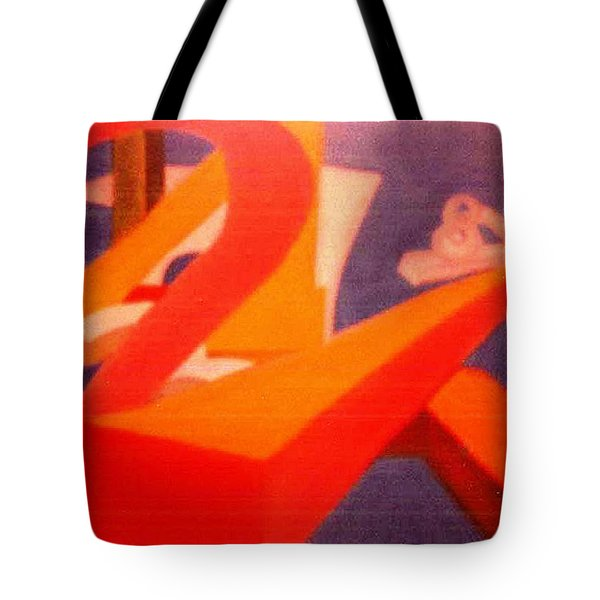 The Numbers Tote Bag