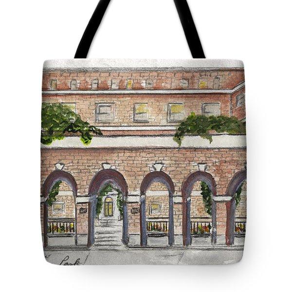The Nyu Law School Tote Bag