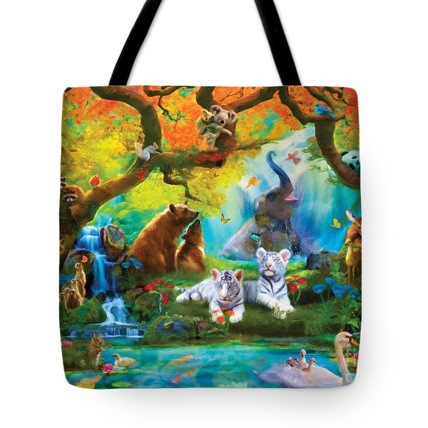 The Oasis Tote Bag by Aimee Stewart