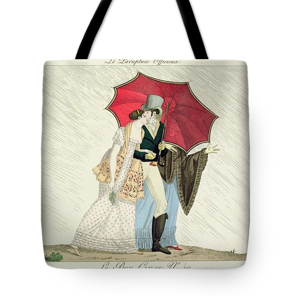 The Obliging Umbrella Tote Bag