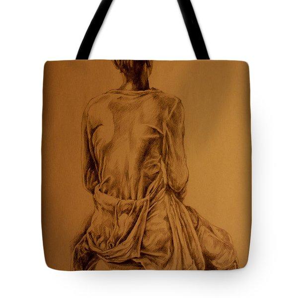The Observer Tote Bag by Derrick Higgins